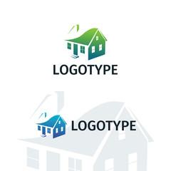 Real estate logo, home logo, house logo, property logo, vector logo