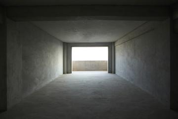 Empty house, No decoration no one lives inside