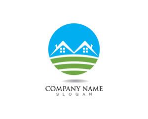 Property home building logo