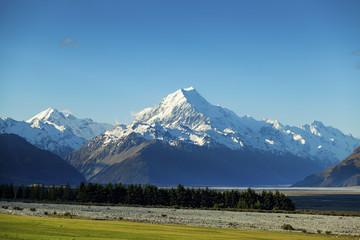 Aoraki Mount Cook on New Zealand's South Island
