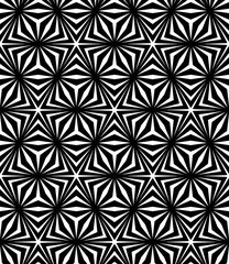 Vector modern seamless sacred geometry pattern trippy, black and white abstract geometric background, pillow print, monochrome retro texture, hipster fashion design