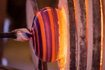 Glass Blower, Glass, Blown Glass Manufacturing Plant