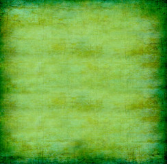 Abstract Background Painted Green Wall