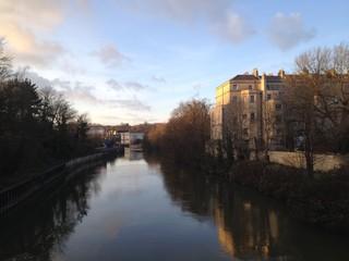 Riverside in Bath, UK
