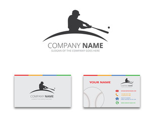 Baseball Logo and Business Card