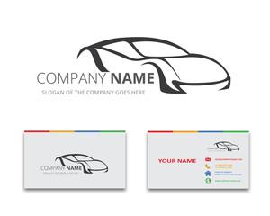 Car Logo , vector Business Card