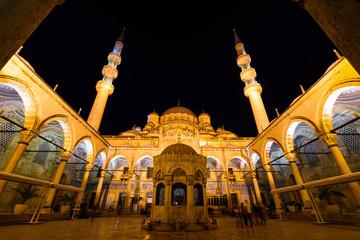 Moschee Innenhof Istanbul Türkei