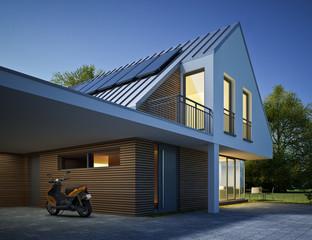 Modernes Haus CloseUp 2