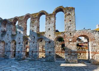 Bulgaria. Wall of Old Nessebar.