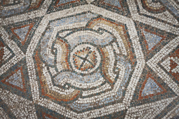 Mosaic Pattern from Sardis in Turkey