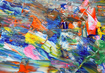 Background of artist palette.