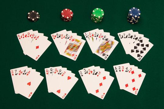 All poker hands