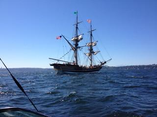 Türaufkleber Schiff Pirate Ship