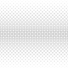 Repeating monochrome vector square pattern