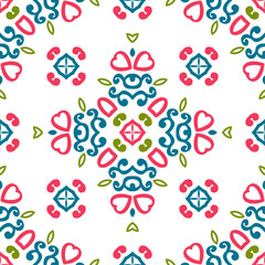 Vintage universal different seamless eastern patterns (tiling). Endless texture can be used for wallpaper, pattern fill, web page background, surface textures clothes. Retro geometric ornament.