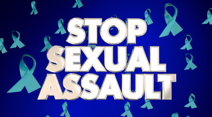 Stop Sexual Assault Rape Violence Against Women Ribbons Awarenes