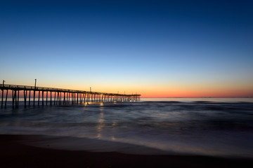 Hatteras Island Pier at Sunrise
