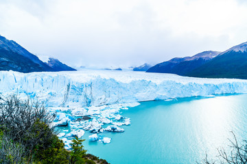 Printed kitchen splashbacks Glaciers View of Perito Moreno Glacier