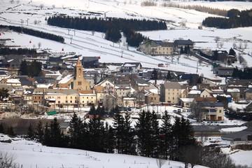 Les Estables, Massif du Mézenc, Haute-Loire,Auvergne, France