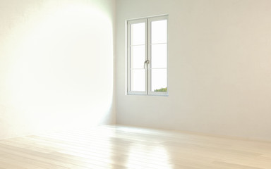Bright, emtpy room 02