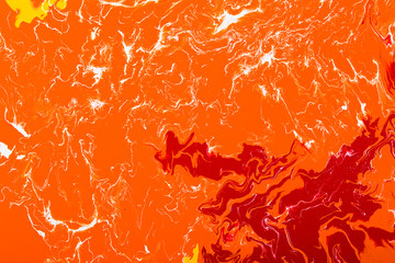 Abstract art splash