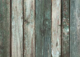 Grungy navy blue wooden wall texture.