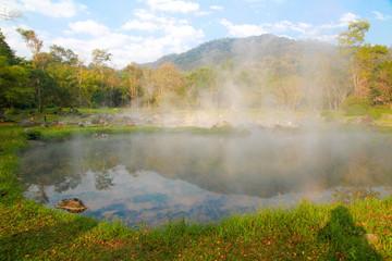 Chae Son Hot Spring at Chaeson National Park, Lampang (Thailand)