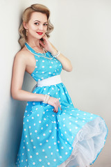 glamour pin-up girl