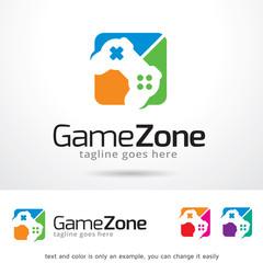 Game Zone Logo Template Design Vector