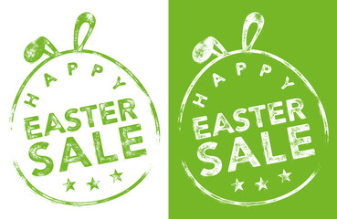 Rubber Stamp - HAPPY EASTER SALE