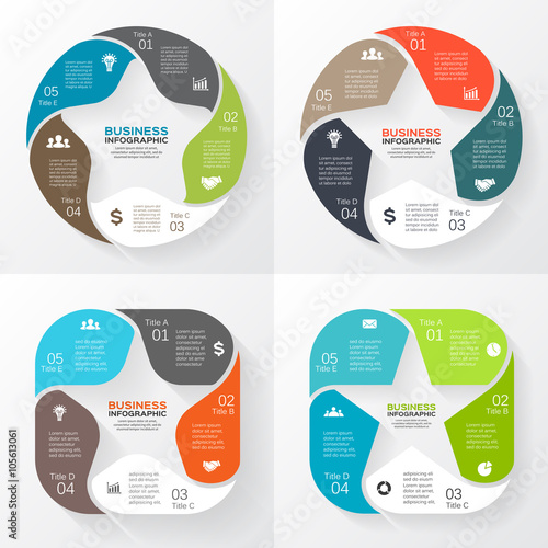 Vector circle arrows star infographic template for cycle diagram vector circle arrows star infographic template for cycle diagram graph presentation and round ccuart Choice Image