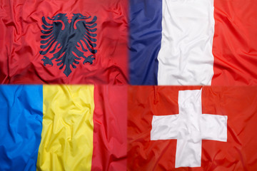Flags of Group A