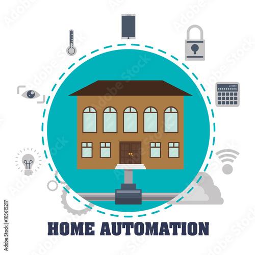 Home Automation Design Immagini E Vettoriali Royalty Free Su File 105615217
