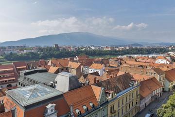 Maribor cityscape, Slovenia