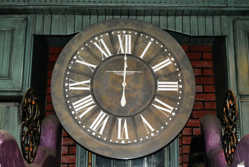Vintage Style Clock old theme