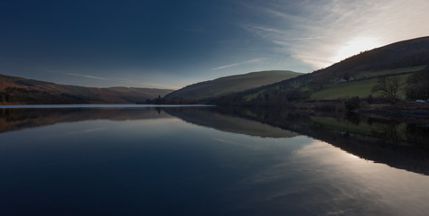 Talybont Reservoir The Talybont Reservoir is the largest stillwater reservoir in the central Brecon Beacons, South Wales
