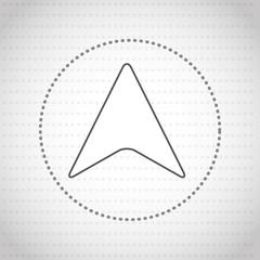 gps service icon design