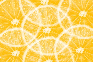 orange lemon slice texture background