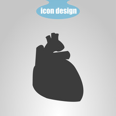 Icon of human heart