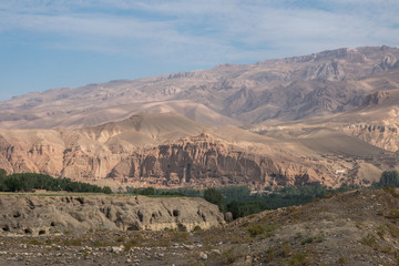 the giant buddha - bamiyan