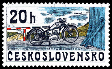 Postage stamp. Straconice, 1951.