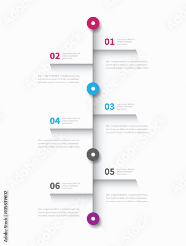 Infographic mind map 6 options modern business map timeline infographic mind map 6 options modern business map timeline graphic report element ccuart Choice Image