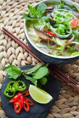 Vietnamese pho thom vegetarian