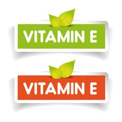 Vitamin E label vector set