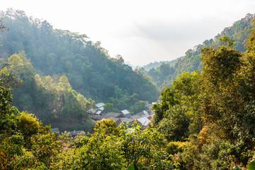 Maekampong village in the mountain, Chiangmai.