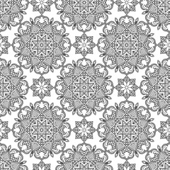 Abstract Seamless Pattern. Vintage Ornament Pattern. Islamic, Ar