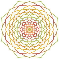 Mandala. Flower. Vintage Round Ornament Pattern. Islamic, Arabic