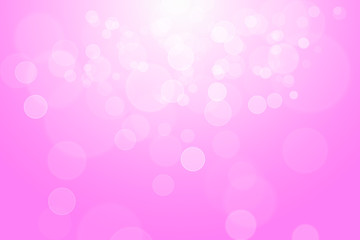Pink bokeh abstract background.