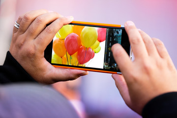 carnaval fête kermesse enfant ballon souvenir photographier pho