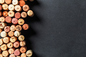 Wall Murals Wine Bunch of wine corks